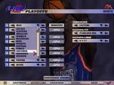 NBA Live 2000 Windows Choosing a team for the playoffs