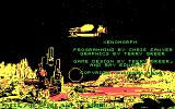 Xenomorph DOS Title screen (CGA)