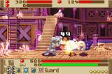 Summon Night: Swordcraft Story Game Boy Advance Battles are done in a side-scrolling view
