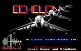 Echelon DOS Title Screen