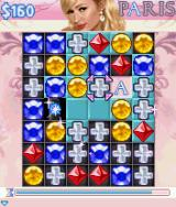 Paris Hilton's Diamond Quest J2ME Create combinations over tiles to reveal letters of Paris' name.
