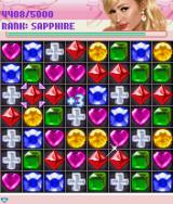 Paris Hilton's Diamond Quest J2ME Diamonds Are Forever game with different rankings