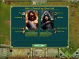 Age of Mythology: The Titans Windows Choosing a God to upgrade under
