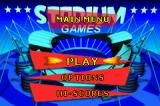 Stadium Games Game Boy Advance Main Menu
