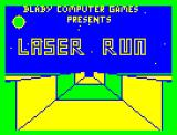 Laser Run Dragon 32/64 Title screen