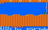 The Bells Amstrad CPC Just jump over the pits to reach the bell