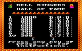 The Bells Amstrad CPC High score table