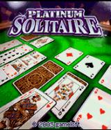 Platinum Solitaire J2ME Title screen