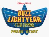 Disney•Pixar Buzz Lightyear of Star Command PlayStation Title screen