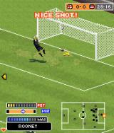 2006 Real Soccer J2ME The keeper can't reach it!