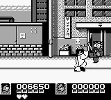 Nekketsu Kōha Kunio-kun: Bangai Rantōhen Game Boy And he also has a special move - press A+B to crouch, and then press either button to jump and throw an uppercut!