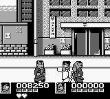 Nekketsu Kōha Kunio-kun: Bangai Rantōhen Game Boy Of course, you can also grab stunned enemies and punch them in the face.