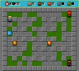 Bomberman DOS Multiplayer game always has the same level size and textures.