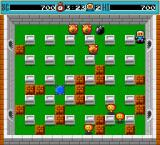 Bomberman DOS Also, when you find the gate, don't detonate the bomb near it, 'cos most agressive enemies will emerge out of nothing.
