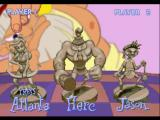 Herc's Adventures PlayStation Player select screen