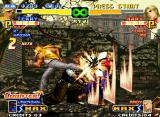 The King of Fighters 2000 Neo Geo The next offensive is lead by Terry's Body Blow Attack and Ryuhaku Todo's Kasane Ate: sorry, Mary...
