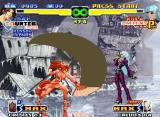 The King of Fighters 2000 Neo Geo While Kula Diamond only taunts, a Counter-Mode-active Mai Shiranui executes her move Sayo Chidori.
