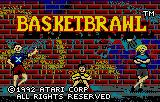 Basketbrawl Lynx Title screen