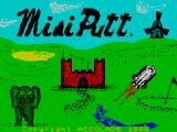 Mini-Putt ZX Spectrum Title screen