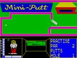 Mini-Putt ZX Spectrum MiniPutt. The gate opens and closes.