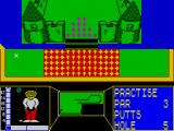 Mini-Putt ZX Spectrum Castle. Avoid the water.