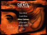 The Devil Inside Windows Main menu