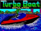 Turbo Boat Simulator ZX Spectrum Loading screen