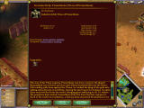 Age of Mythology: The Titans Windows The On Screen Dictionary explains what everything is.