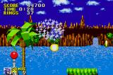 Sonic the Hedgehog Game Boy Advance When invincible, you can plough through anything!