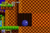 Sonic the Hedgehog Game Boy Advance Sonic can even break through certain walls