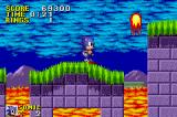 Sonic the Hedgehog Game Boy Advance Some platforms in lava sink, and even set on fire!