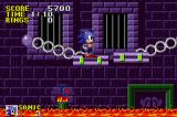 Sonic the Hedgehog Game Boy Advance Time your jumps, or get scorched by lava!