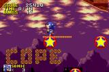 Sonic the Hedgehog Game Boy Advance Sonic bounces around the level like a pinball!