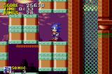 Sonic the Hedgehog Game Boy Advance Don't get crushed by these moving blocks!