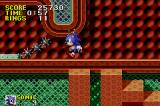 Sonic the Hedgehog Game Boy Advance These spikes rotate around quickly, be sure not to get hit!
