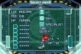 Scurge: Hive Game Boy Advance Your save file's current progress