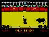 Olé, Toro ZX Spectrum Ready for the challenge?