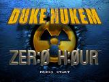 Duke Nukem: Zer:0 H:0ur Nintendo 64 Title screen.