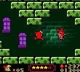 Wendy: Every Witch Way Game Boy Color Some enemies need to be flipped before you can destroy them