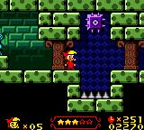 Wendy: Every Witch Way Game Boy Color These purple foes react inversely to gravity - down is up for them!
