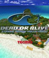 Dead or Alive: Xtreme Beach Volleyball J2ME Title screen