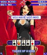 Sexy Poker 2006 J2ME Video poker against Miko