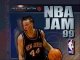 NBA Jam 99 Nintendo 64 Title screen.