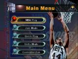 NBA Jam 99 Nintendo 64 Menu screen.