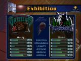 NBA Jam 99 Nintendo 64 Team selection.