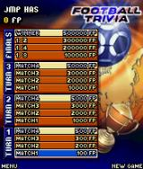 Football Trivia J2ME The ladder