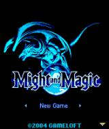 Might and Magic J2ME Title screen