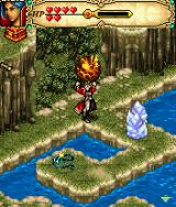 Might and Magic J2ME Ewan's magic and the game's puzzles are based on fire, ice and wind.