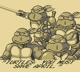 Teenage Mutant Ninja Turtles:  Fall of the Foot Clan Game Boy Your Mission