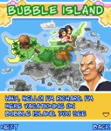 Bubble Bash! J2ME Each section of the island is owned by a different character.